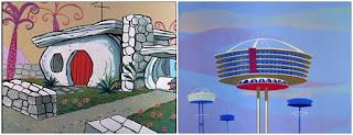 Casa familiei Flintstone versus casa familiei Jetsons