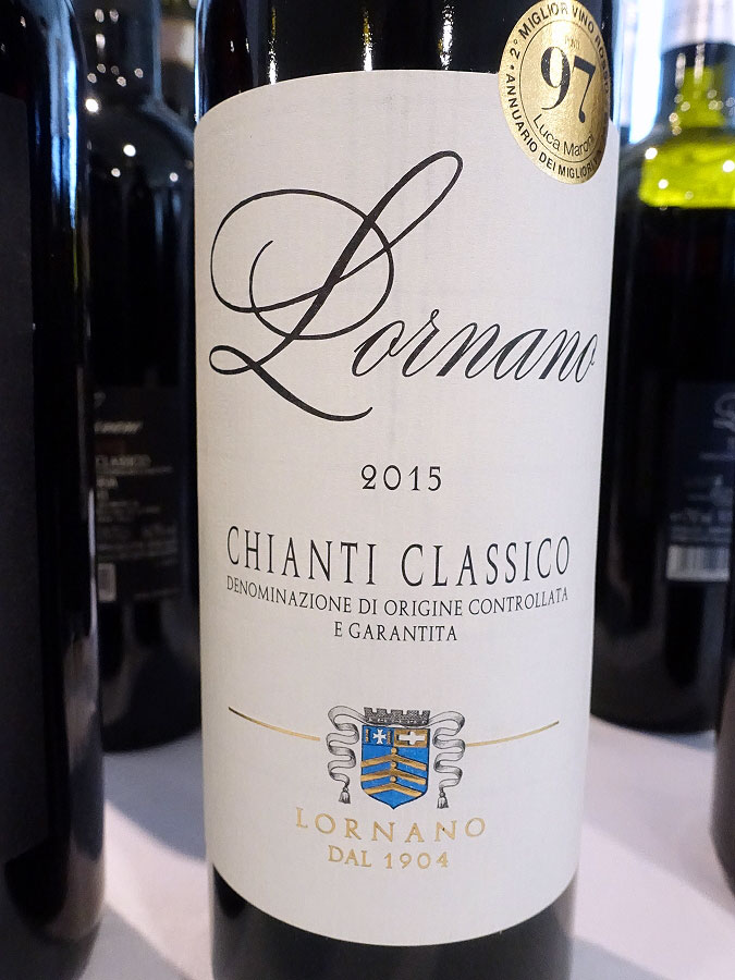 Lornano Chianti Classico 2015 (89 pts)