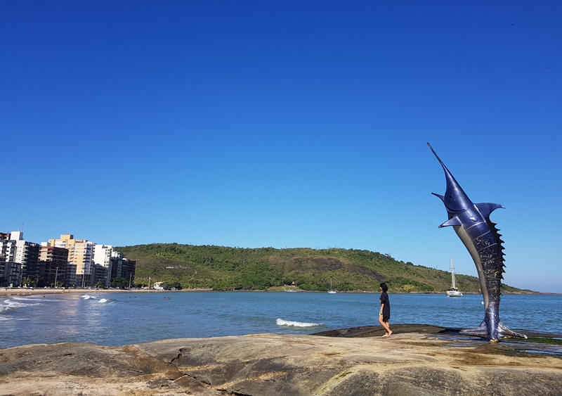 Praia do Morro, Marlim Azul, Guarapari