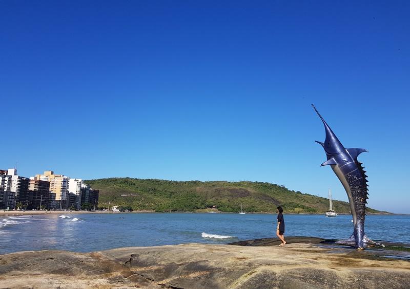 Praia do Morro, Marlim Azul, Guarapari