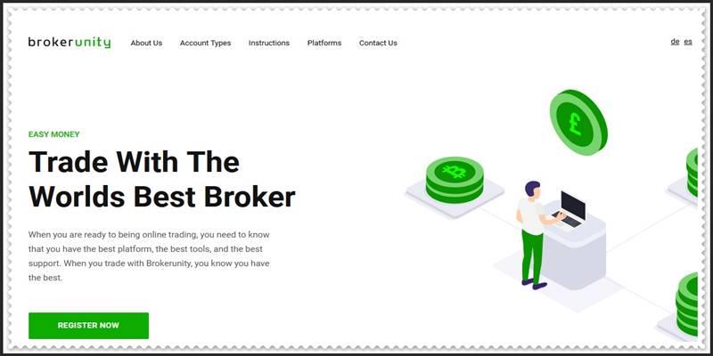 Мошеннический сайт brokerunity.com – Отзывы, развод! Компания Broker Unity мошенники