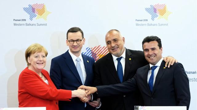 Νέα εγκώμια Μέρκελ για την Συμφωνία των Πρεσπών