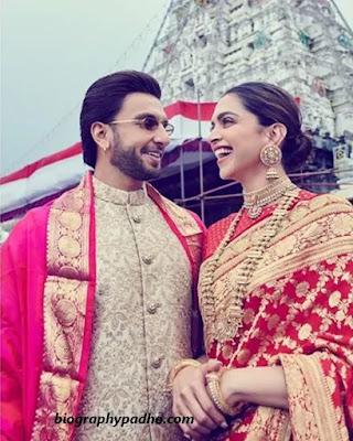 Ranveer Singh Wife Deepika Padukone