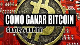 Cómo ganar Bitcoin gratis