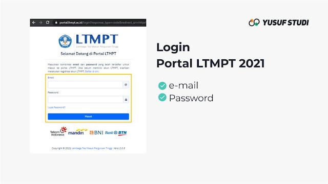 Panduan Isi Biodata Akun LTMPT 2021 Bagi Siswa