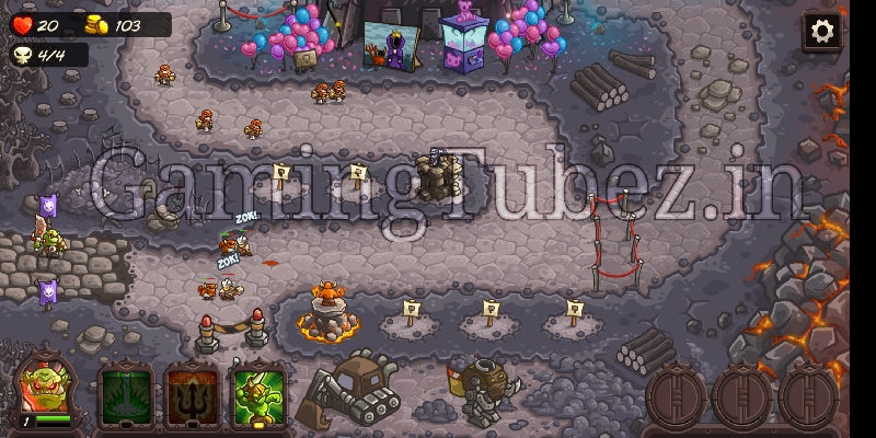 Kingdom rush vengeance android game