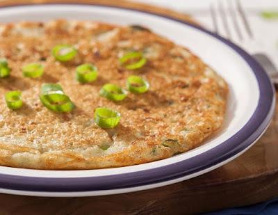 """""""Omelete"""" de Grão-de-Bico e Aveia (vegana)"""