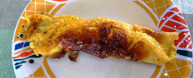tortilla al ron