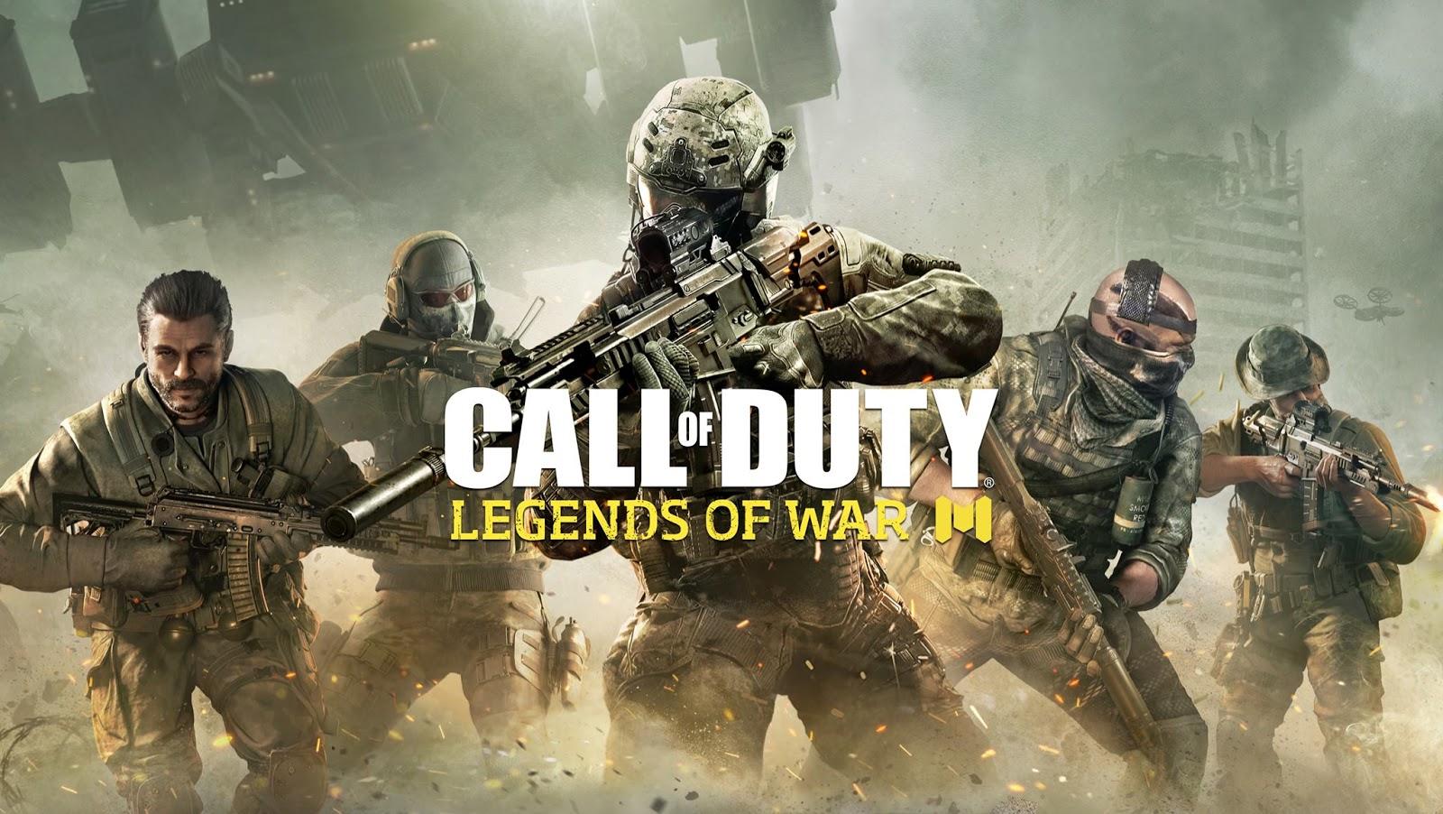 تحميل لعبة كول اوف ديوتي للاندرويد اون لاين - Download Call Of Duty Legends Of War Mobile