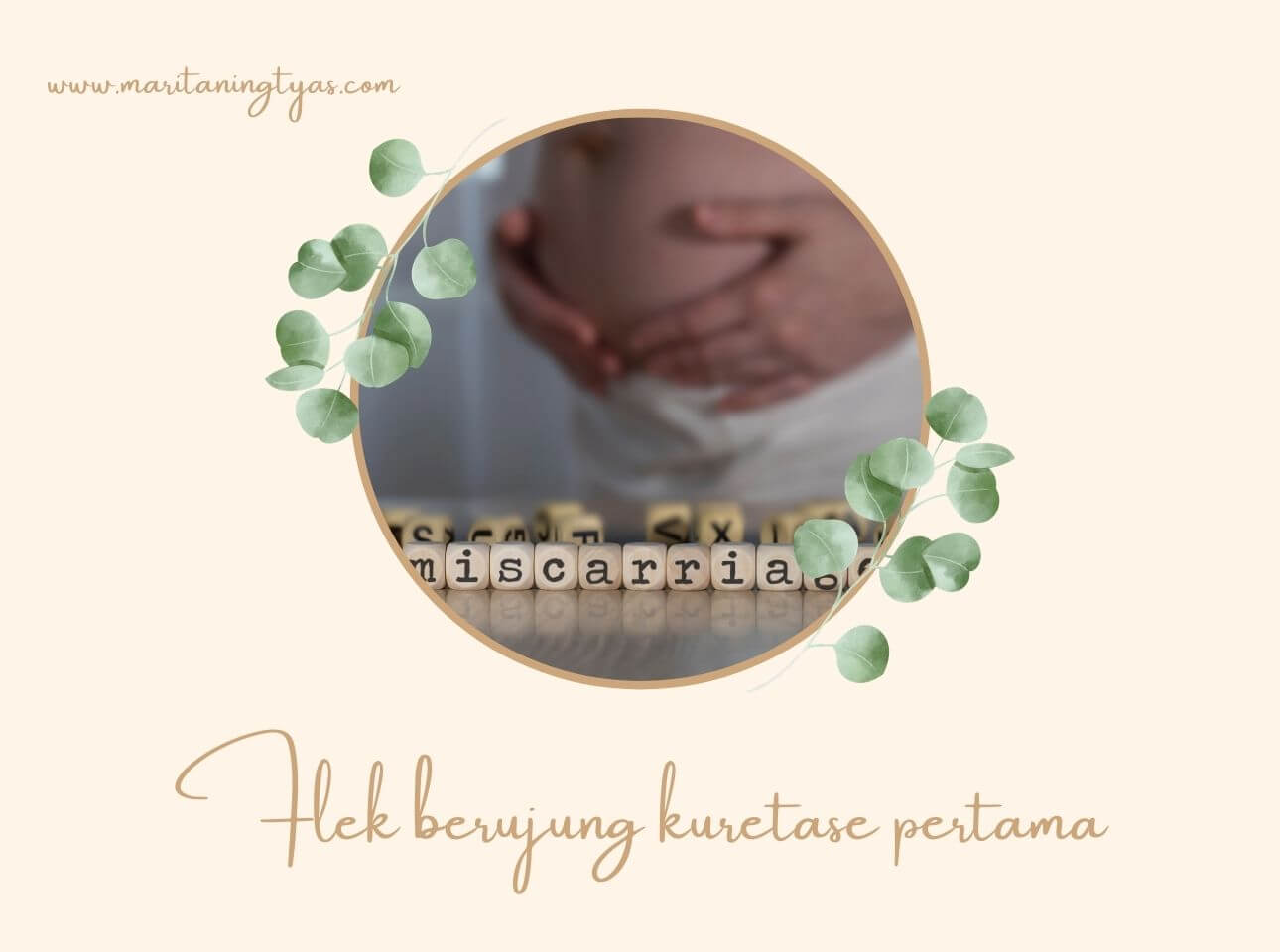 kehamilan pertama berujung kuretase