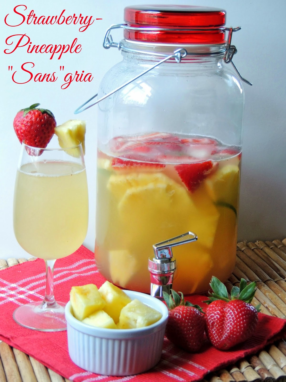 Strawberry Pineapple sansgria