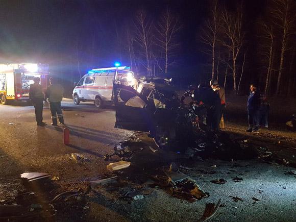 Пятеро жителей Башкирии погибли в ДТП под Пензой (Видео)