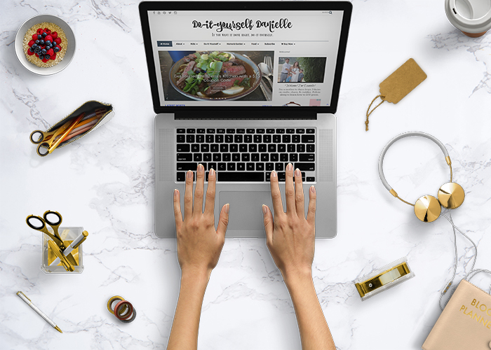 DIY Danielle featured blogger on blogger