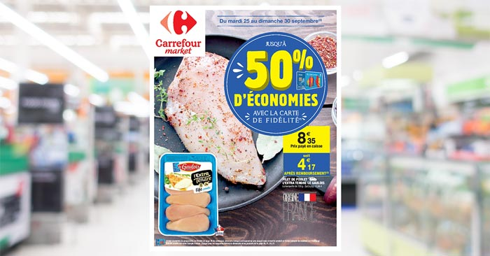 Catalogue Carrefour Market Du 25 Au 30 Septembre 2018