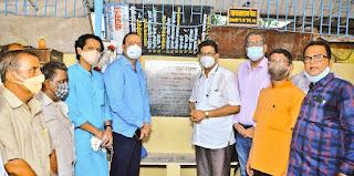 #JaunpurLive : कुर्ला में एनआरएस फाउंडेशन ने किया वाचनालय  का सुशोभीकरण