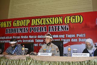 Bidhumas Polda Jateng Gelar Focus