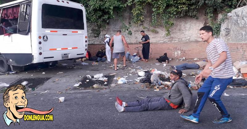 Autobús se chocó de frente contra una vivienda en Baruta dejando un muerto y varios heridos