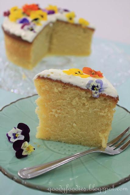 Most Moist Butter Cake Recipe