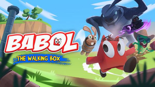 Babol The Walking Box, novo plataforma 3D, chegará ao Switch