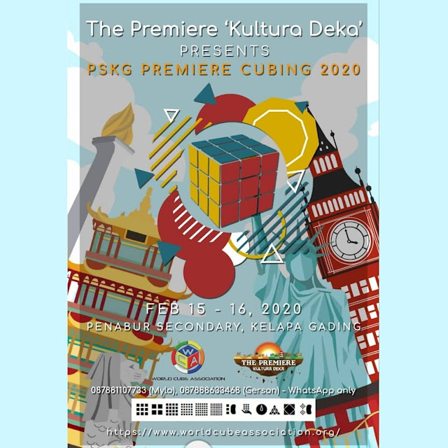 PSKG Premiere Cubing 2020 poster