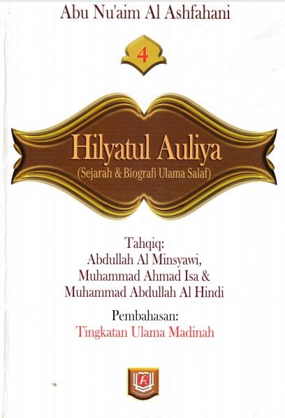 terjemah hilyatul auliya lengkap pdf