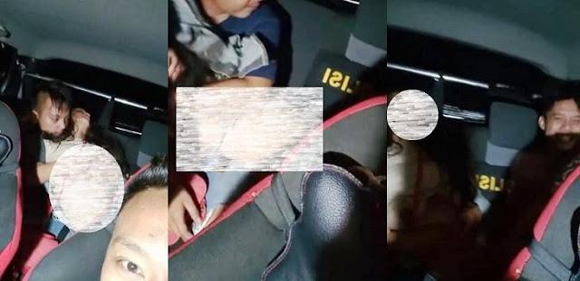 Polisi yang Rekam Teman Lecehkan Wanita dalam Mobil jadi Tersangka dan Ditahan