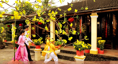 First day of lunar new year in Vietnam