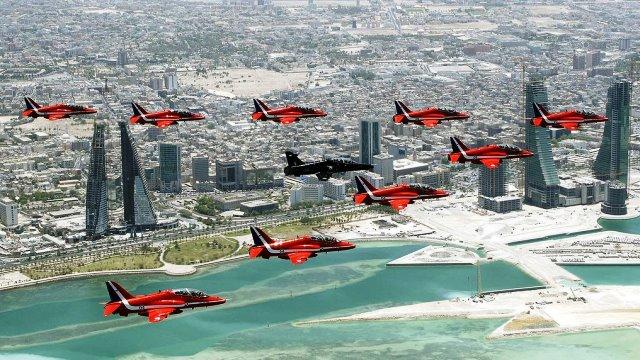 مطار الصخير الدولي Sakhir Air Base