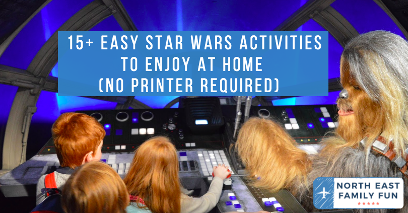 15+ Easy Star Wars Activities to Enjoy at Home (No Printer Required)