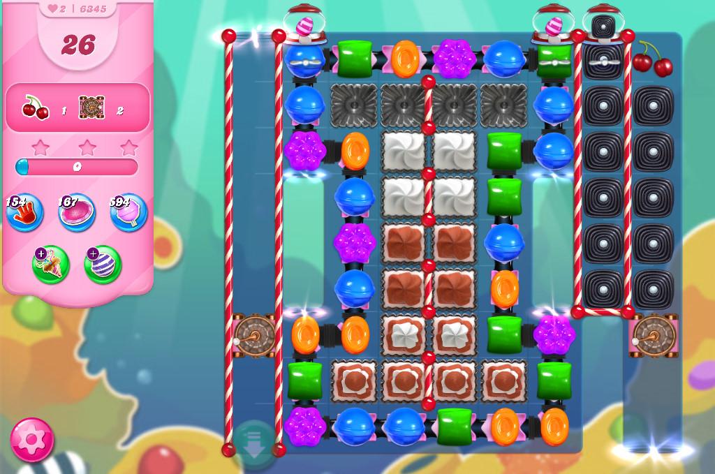 Candy Crush Saga level 6345