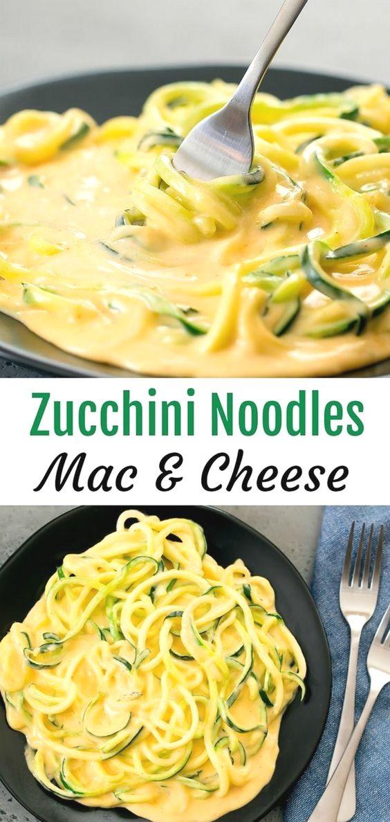ZUCCHINI NOODLES MAC & CHEESE