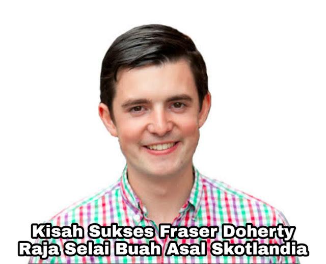 Kisah Sukses Frasea Doherty, Raja Selai Asal Skotlandia