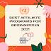 Best Affiliate programs for beginners in 2021