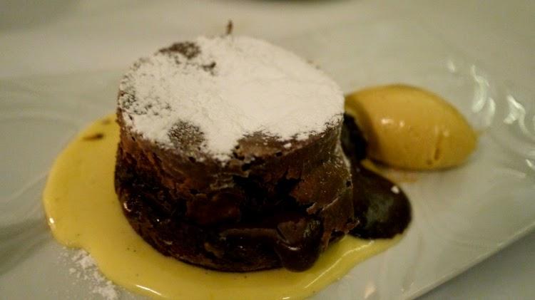 Toto's Knightsbridge Molten Chocolate Dessert