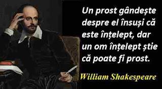 Maxima zilei: 23 aprilie - William Shakespeare