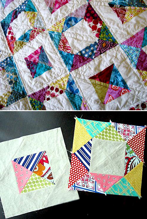 Gemstone Quilt Block Tutorial