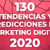 Conoce 130 Tendencias de Marketing Digital para el 2020 (Ebook gratis)