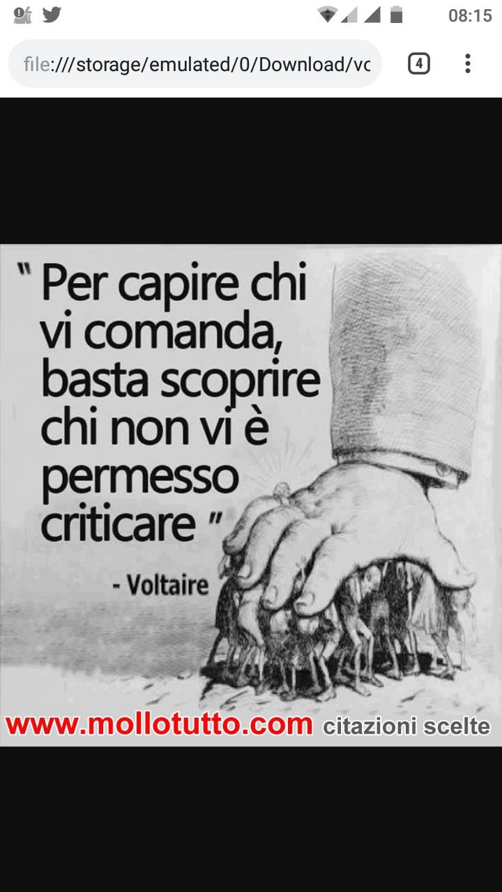 Pensiero Indipendente Voltaire Aveva Capito