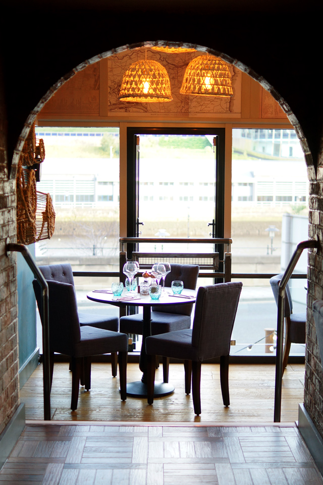 The Jolly Fisherman on the Quay Newcastle Restaurant Review Launch Food