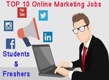 Top 10 Best Online Marketing Jobs