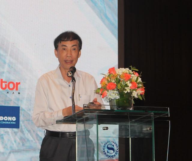 TS. Võ Trí Thành đánh giá, tiềm năng thị trường BĐS Việt Nam còn rất lớn, ở tất cả các phân khúc như nhà ở, văn phòng, nghỉ dưỡng, bán lẻ, logistics... (Ảnh: Hiếu Quân)
