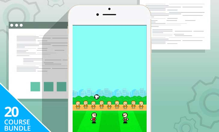 Build 20 Games - iOS Game Developer Bundle - 20 Courses