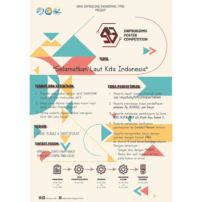 Lomba Desain Poster 2020 Tema Laut Indonesia