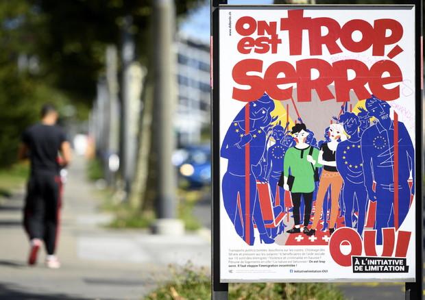 هجرة، السويسريون يرفضون في استفتاء اقتراح الحد من حرية التنقل بين سويسرا والاتحاد الأوروبي