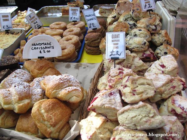 Рынок Сент-Джордж - ирландские сконы и домашние круассаны