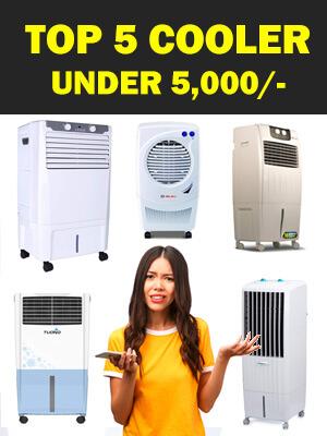 Top 5 Cooler Under 5000 Rupees online
