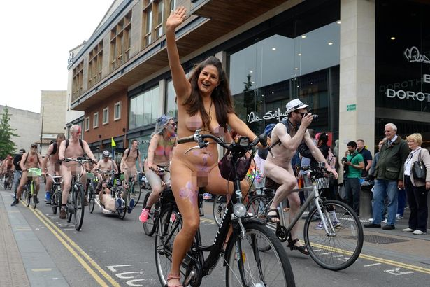 The Naked Bike Ride 117