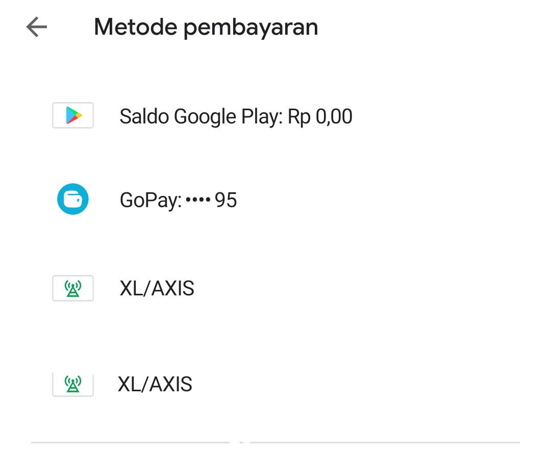 Cara Menambahkan Metode Pembayaran Via Pulsa Axis Di Google Playstore 2020 Work 100 Otak Online