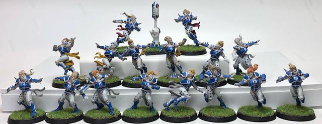 Pro Elf Blood bowl team