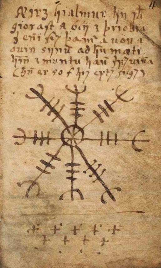Imagem do livro Galdrabók